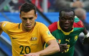 FIFA Confederations Cup 2017                             – Group B Cameroon 1-1 ออสเตรเลีย 22-06-2017