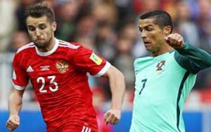 FIFA Confederations Cup 2017                             – Group A รัสเซีย 0-1 โปรตุเกส 21-06-2017
