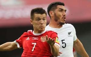 FIFA Confederations Cup 2017                             – Group A รัสเซีย 2-0 New Zealand 17-06-2017