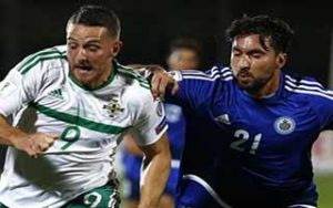 World Cup 2018 Qualifiers                             – Group C ซานมารีโน 0-3 Northern Ireland 01-09-2017