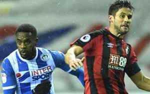 เอฟเอ คัพ Wigan Athletic 3-0 AFC Bournemouth 17-01-2018