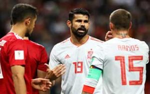 World Cup 2018                             – Group B Iran 0-1 สเปน 20-06-2018