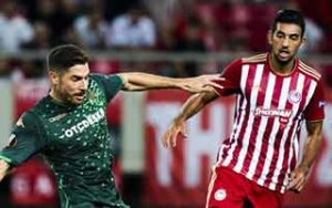 UEFA Europa League                             – Group F Olympiacos 0-0 Real Betis 20-09-2018