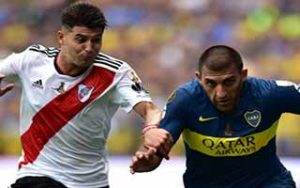 2018 Copa Libertadores                             – Final – First Leg Boca Juniors 2-2 River Plate 11-11-2018