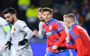 UEFA Champions League                             – Group G Viktoria Plzen 2-1 โรม่า 12-12-2018