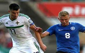 EURO 2020 Qualifiers                             – Group C เอสโตเนีย 1-2 Northern Ireland 08-06-2019