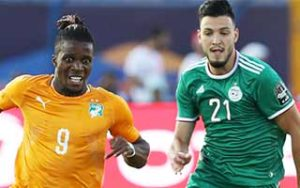 Africa Cup of Nations 2019                             – Quarter Final Ivory Coast 1-1 Algeria 11-07-2019