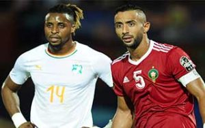 Africa Cup of Nations 2019                             – Group D Morocco 1-0 Ivory Coast 28-06-2019