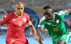 Africa Cup of Nations 2019                             – Semi-Final Senegal 1-0 Tunisia 14-07-2019
