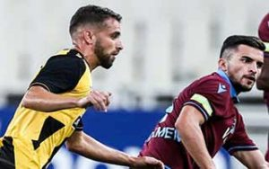 UEFA Europa League                             – Play-Offs Round AEK Athens 1-3 แทรปซอนสปอร์ 22-08-2019