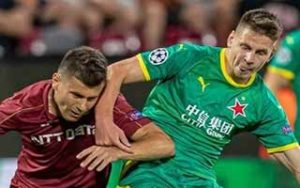 UEFA Champions League                             – Play-Offs Round CFR Cluj 0-1 Slavia Prague 20-08-2019