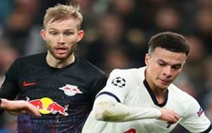 UEFA Champions League                             – Round of 16 สเปอร์ส 0-1 RasenBallsport Leipzig 19-02-2020